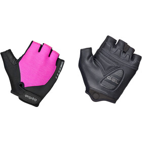 GripGrab ProGel Padded Short Finger Gloves Women pink